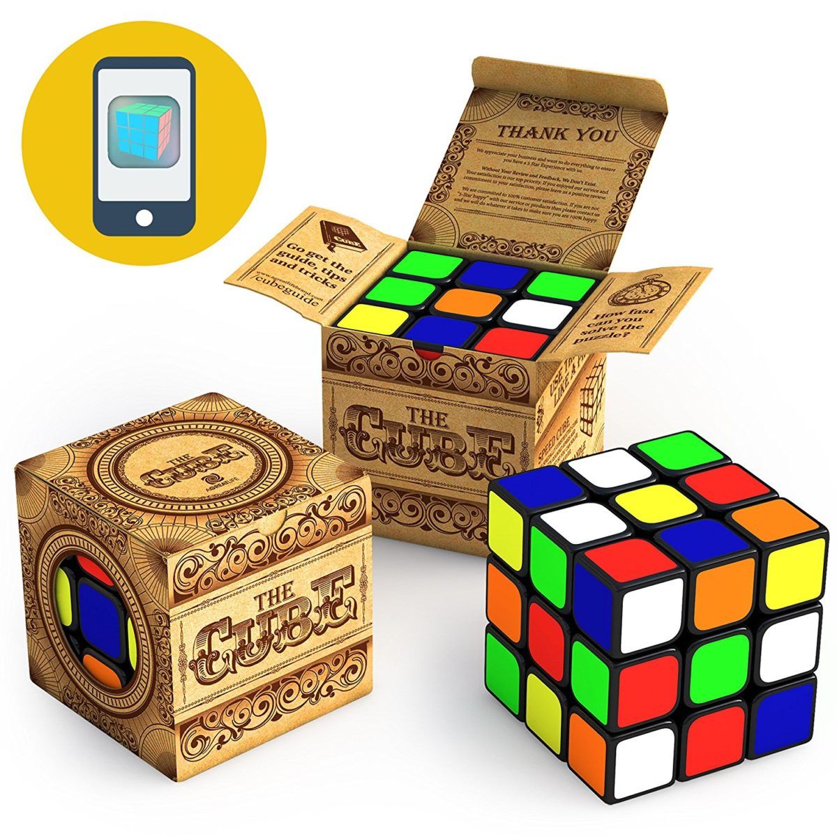 The Cube: Turns Quicker and More Precisely Than Original; Super-durable With Vivid Colors; Best-selling 3×3 Cube; Easy Turning and Smooth Play