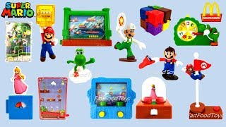 2018 Mcdonalds Super Mario Happy Meal Toys Usa Set 8 Reveal After Disney Pixar Incredibles 2
