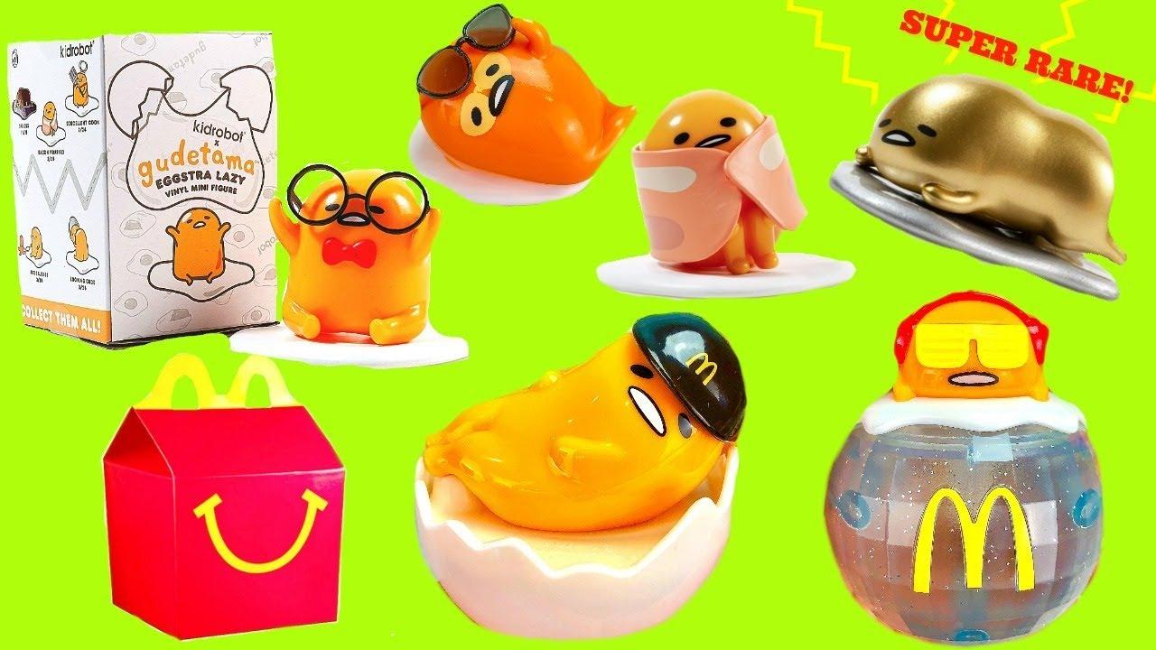 Full Case of Kidrobot Gudetama Blind Boxes and Happy Meal Toys - Full Case of Kidrobot Gudetama Blind Boxes and Happy Meal Toys